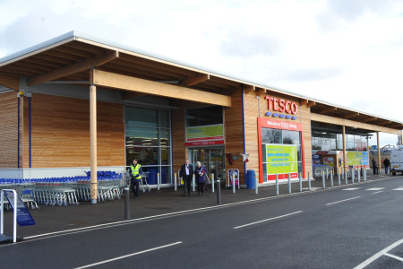 Tesco Retail Store